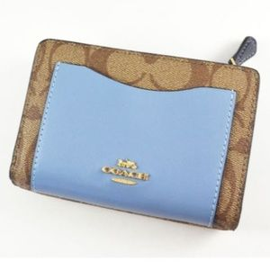 NEW! Coach Colorblock Wallet (FABGRAD)